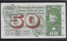 Suisse - 50 Francs - Pick N°48l - TB - Schweiz