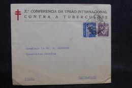 PORTUGAL - Enveloppe De La Conférence Contre La Tuberculose à Lisbonne En 1936 Pour La Suisse - L 34532 - 1910-... République