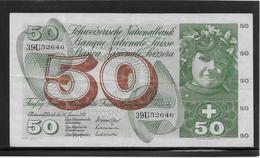 Suisse - 50 Francs - Pick N°48l - TTB - Zwitserland
