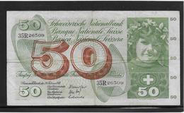 Suisse - 50 Francs - Pick N°48k - TB - Zwitserland