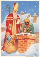 Sinterklaas Met Zwarte Piet - Saint-Nicolas