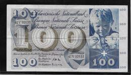 Suisse - 100 Francs - Pick N°49e - TTB - Zwitserland