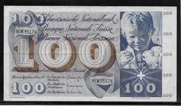 Suisse - 100 Francs - Pick N°49o - TTB - Zwitserland