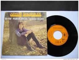 GERARD LENORMAN / DE TOI / PLUS DE SOLEIL / AU LEVER DU JOUR - Otros - Canción Francesa