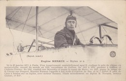 Eugène Renaux - Biplan N°4 - Airmen, Fliers