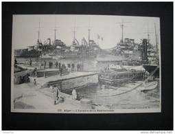 ALGER - L'Escadre De La Méditerrannée - (Algérie) - - Algiers