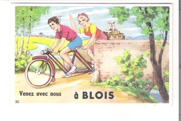 D 41. CARTE à SYSTEME  De BLOIS - A Systèmes