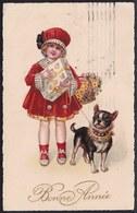 CPA Illustrateur - Bouledogue Français French Bulldog - Chien -  Dog - Hund -  Circulé - Chiens