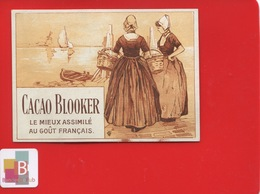Cacao Blooker Belle Chromo Hollande Deux Femmes - Chocolate