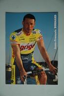 CYCLISME: CYCLISTE : JEAN FRANCOIS BERNARD - Ciclismo