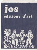 Pochettes D'emballage Anciennes Pour Cartes Postales, Publicité Pour Les Editions D'Art JOS à Châteaulin - Matériel