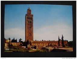 MARRAKECH - La Koutoubia  - (Maroc) - - Marrakesh