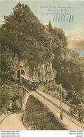 WW SUISSE. Chemin De Fer Montreux Glion. Rocher De Toveyre Et Dents Du Midi 1914 - VD Vaud