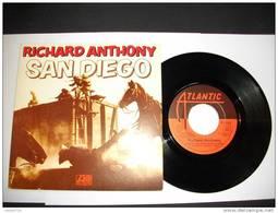 RICHARD ANTHONY  SAN DIEGO/LAISSEZ-MOI DERIVER SUR LA MER - ATLANTIC - 11219- WEA - Andere - Franstalig