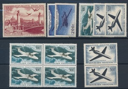 CX-122: FRANCE:  Lot  PA** Avec N°28-31(2)-35(5)-36(4) - Luftpost