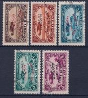 SYRIE - PA 69A/69E  SERIE FOIRE DE DAMAS OBL USED COTE 27 EUR - Syria (1919-1945)