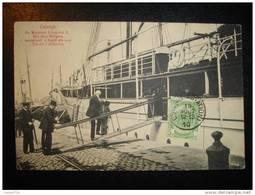 BELGIQUE - OSTENDE - Sa Majesté Léopold II, Roi Des Belges, Montant à Bord De Son Yacht L'Alberta. - Oostende