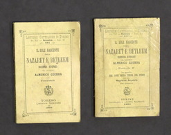 A. Guerra - Il Sole Nascente Ossia Nazaret E Betleem - 1^ Ed. 1893 - Boeken, Tijdschriften, Stripverhalen