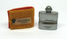 """Miniature De Parfum - HERMES """"Rocabar"""" Flacon Métal - Eau De Toilette 7,5ml - Modern Miniatures (from 1961)"""