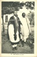 DJIBOUTI - Chef Abyssin En Tenue - Gibuti