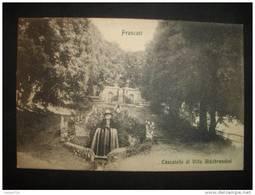 FRASCATI - Cascatelle Di Villa Aldobrandini  -  (Italie)  - - Italia