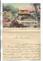 CHINE - Lettre Correspondance écrite De ARSENAL (TIENTSIN  ) Le 15/11/1937 - Belle Illustration  En Début De Page - Historical Documents