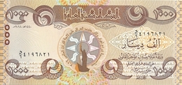 IRAK 1000 DINARS 2018 UNC P New - Iraq