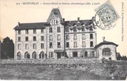 42 - MONT PILAT : GRAND HOTEL Et Station Climatique - CPA - Loire - Mont Pilat