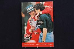 F-240 / Affiche Publicitaire, Malboro - World Championship Team - Ayrton Senna - Rendez-vous à  Spa - Francorchamps - Sportifs