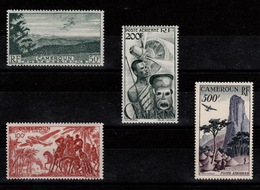 Cameroun - YV PA 38 à 41 N* Complete Cote 37 Euros - Airmail