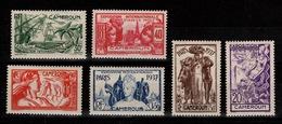 Cameroun - YV 153 à 158 N* Gomme Coloniale Exposition Internationale De Paris Cote 13 Euros - Cameroun (1915-1959)