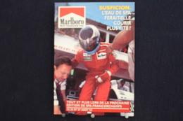 F-243/ Affiche Publicitaire, Malboro - World Championship Team - Ayrton Senna - Rendez-vous à  Spa - Francorchamps - Sportifs