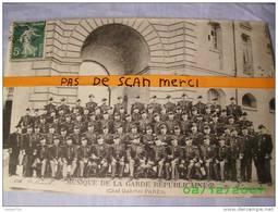 75 PARIS MUSIQUE DE LA GARDE REPUBLICAINE CHEF GABRIEL PARES - Arrondissement: 13