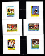 Soccer World Cup 1978 - Football - LIBERIA - 6 S/S De Luxe Imp. MNH - 1978 – Argentina