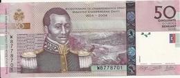 HAITI 50 GOURDES 2014 UNC P 274 E - Haïti
