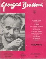 Album Vintage De Partition—Georges Brassens—N°10—Paroles Et Musique—Années 70 - Musique & Instruments