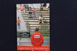 F-244 / Affiche Publicitaire, Malboro - World Championship Team - Ayrton Senna - Rendez-vous à  Spa - Francorchamps - Sportifs