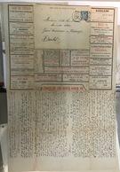France, Entier Postal, Enveloppe Lettre Annonce, Rue Molière à Lyon, Nombreuses Pub, A Voir, Jolie - Entiers Postaux