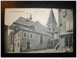 19 LA CORREZE ILLUSTREE - USSEL - L'Eglise - Ussel