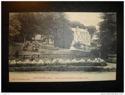 27 SAINT MARCEL (Eure) - Château De MONTIGNY Et La Pièce D'eau - Francia