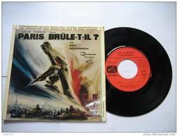 """PARIS BRULE-T-IL ? """"LOVE THEME"""" FROM  PAR DOC SEVERINSEN / 45 TOURS / COMMAND EGF 80.001 - World Music"""