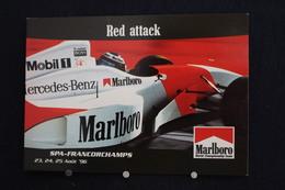 F-246 / Affiche Publicitaire, Malboro - World Championship Team - Ayrton Senna - Rendez-vous à  Spa - Francorchamps - Sport Automobile