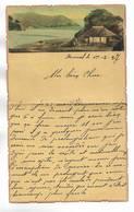 CHINE - Lettre Correspondance écrite De ARSENAL (TIENTSIN  ) Le 1/02/1937 - Belle Illustration  En Début De Page - Historical Documents