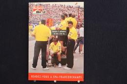 F-247 / Affiche Publicitaire, Malboro - World Championship Team - Ayrton Senna - Rendez-vous à  Spa - Francorchamps - Sport Automobile
