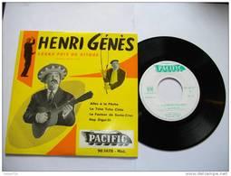 HENRI GENES / GRAND PRIX DU DISQUE / ACADEMIE CHARLES CROS / 45 TOURS PACIFIC 90.147B - Méd. - World Music
