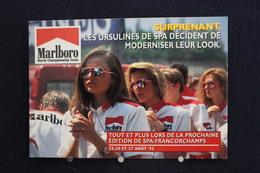 F-248 / Affiche Publicitaire, Malboro - World Championship Team - Ayrton Senna - Rendez-vous à  Spa - Francorchamps - Sport Automobile