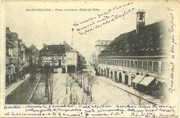 (MONTBELIARD )( 25 DOUBS ) PLACE D ARMES HOTEL DE VILLE - Montbéliard