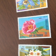 GUINEA I FIORI - Francobolli