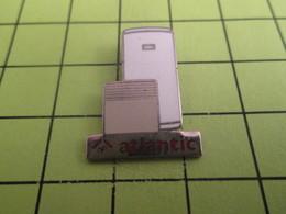 210c  Pin's Pins / Beau Et Rare : THEME : MARQUES / ATLANTIC RADIATEUR ELECTRIQUE BALLON EAU CHAUDE - Trademarks