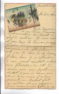 CHINE - Lettre Correspondance écrite De ARSENAL (TIENTSIN  ) Le 11/04/1938 - Belle Illustration  En Début De Page - Historical Documents